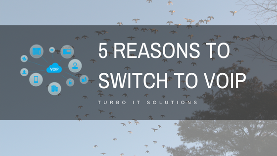 5 Reasons to Switch to VoIP